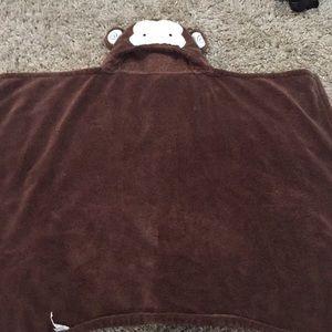 Monkey baby wrap blanket